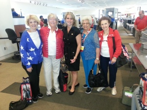 Congresswoman Renee Ellmer, CD2, North Carolina, and our very own PVRW ladies.