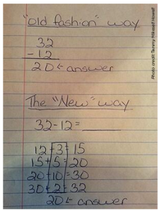 If you can make sense of this new Common Core math, you're a better person than I.