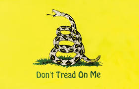 "Unfortunately the government is beginning to tread on ""we the people"" more and more every day..."