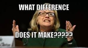Note to Hillary: 61 percent of Americans think it still matters.
