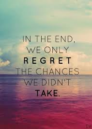 Let's do what needs to be done to win in November. No regrets!