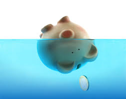 drowning-debt